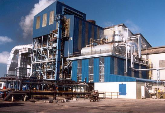 Typical Bagasse-Fired Watertube Boiler