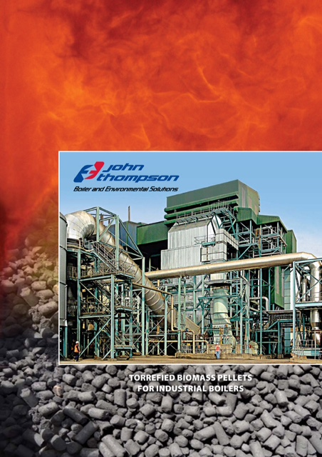Torrefied Biomass Fuel for John Thompson Boilers