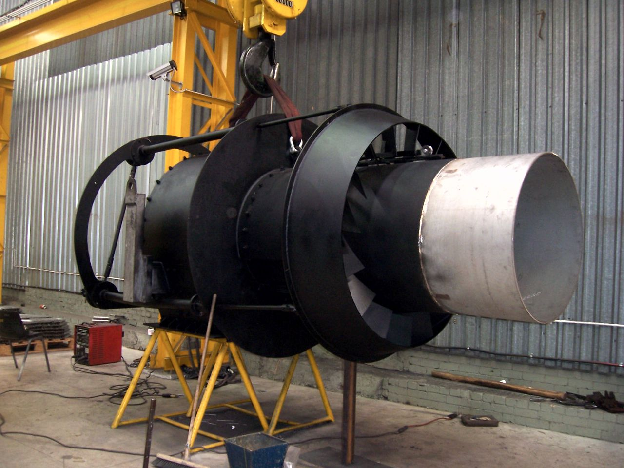 PF BURNER ASSEMBLY