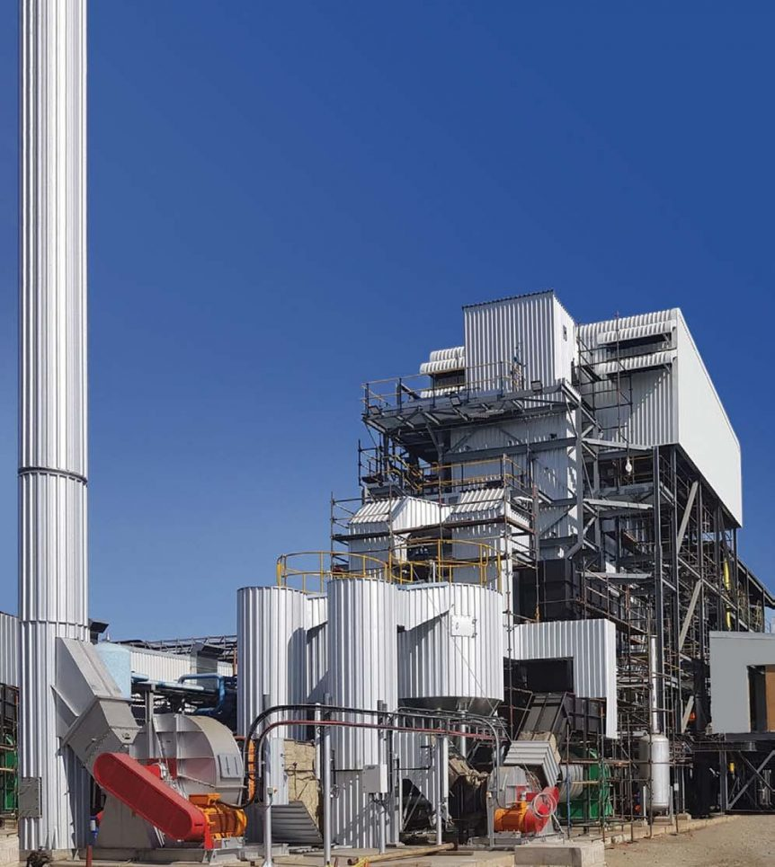 Microgen Biomass Fossil Fuel Fired Boiler
