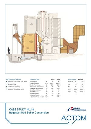 Case Study 14 - Bagasse Fired Boiler Conversion